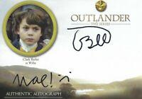 Outlander Season 3 Cryptozoic Autograph Clark Butler as Willie CLB