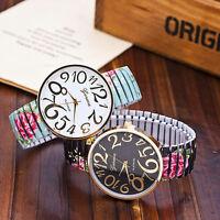 Fashion Women Geneva Silicone Crystal Quartz Ladies Jelly Dial Wrist Gift WatcN