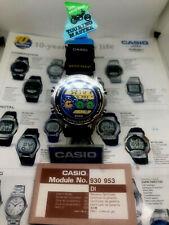 Rare vintage Casio dw-7600 Touring master watch Japan 1990 NOS