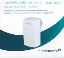 HomeMatic IP Heizkörperthermostat kompakt HMIP-eTRV-C 151239A0 #1233387