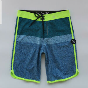 UK Hurley Mens Waterproof Casual Surf Shorts Board Swim Beach Pants Trunks H1904