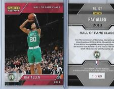 "2017-2018 Panini #127 Ray Allen NBA HOF Hall Of Fame Inductee All w/ ""1 of 69"""