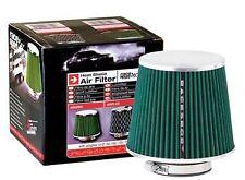 Filtro de Aire Deportivo / Competicion Cromado / Verde 60 65 70 77 MM