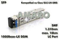 CISCO GLC-LH-SMD komp SFP 1G LX LC 10km 1310nm SMF DDM Transceiver