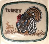 Rare Vintage 1980's Turkey Shoot Hunting Hunter Vest Hipster Jacket Craft Patch