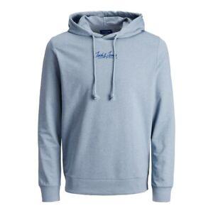 Mens Hoodie Jack Jones Sweatshirt Logo Long Sleeve Jumper Pullover Top S-2XL