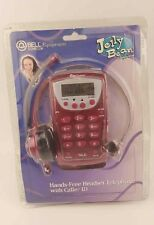 Vintage New Bell Jelly Bean hands free headset telephone caller Id Jb-150