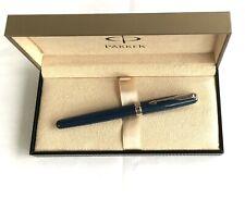 Parker Rollerball Sonnet Expectations Special Edition blau Kugelschreiber