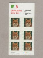 SPECKLED = Booklet of 6 stamps LF = Red Fox = Canada 2000 #1879ai MNH-VF