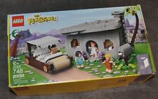 LEGO Ideas 21316 The Flintstones House Complete Set with Box Opened