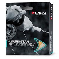 Greys Platinum Shoot Fly Fishing Line - White Floating / Trans Intermediate