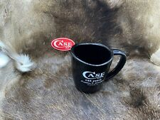 Case Knife Factory Black Coffee Cup With Case Logo Brand Mint In Plastic Bag