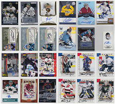 Goalie Auto Autograph Signature Numbered Cards Choose From List Be A Player iTG