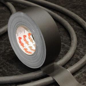 MagTape Matt 500 Matt Black Gaffer Tape - 50mm x 50m, Studio, Stage, TV, Film