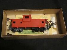Vintage Athearn Ho Gauge Wide Vision Caboose Undecorated Train Car Kit #5360