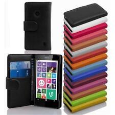 Cover BOOK Style NOKIA MICROSOFT Protection Pocket Etui Flip Case Wallet Card