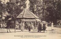 Marseille CPA exposition Coloniale 1922-Palais de l'A.O.F.(cour ..... (174279)