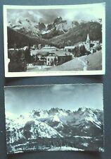 TRENTO - MADONNA DI CAMPIGLIO ANNI '40 + DOLOMITI 1963