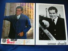 1960s Omar Sharif Japan VINTAGE 13 Clippings CHE! VERY RARE