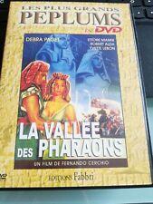 LA VALLEE DES PHARAONS- Debra Paget - Ettore Manni - DVD FR - PEPLUM