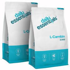 L-Carnitin 3000 - 2x 250 Tabletten (Vegan) F-Burn / Diät / Abnehmen Hochdosiert