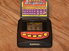 Radica Between Ace & Deuce Red Dog Poker Handheld Electronic Game Model 2160