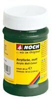 61195 Noch Vernice acrilica, opaca, verde scuro flacone 90 ml.