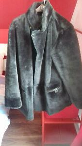 manteau réversible vintage Marina Rinaldi