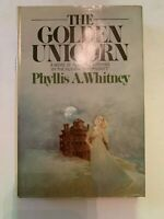 1976 The Golden Unicorn by Phyllis A. Whitney Hardcover with Dust Jacket