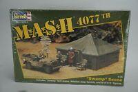 """Vintage Revell MASH 4077th """"Swamp Scene"""" 1:35 Scale Model Kit"""