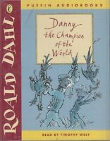 Danny Champion of the World Roald Dahl 2 Cassette Audio Book Abridged FASTPOST