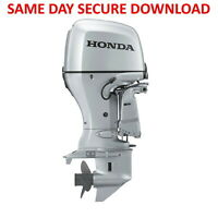 Honda BF2D Outboard Motor Service & Owners Manuals (2 HP Manual) Fast Access