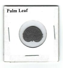 Palm Leaf Chewing Tobacco Embossed