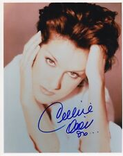 Celine Dion Rare Signed 8X10 Autograph Photo Reprint #9 With Free Magazine