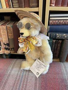 Hermann Teddy - Summer Sunshine Bear -Limited Edition - Label - Mohair - Vintage