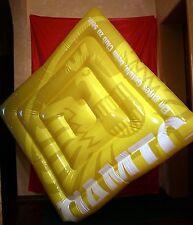 GROßE DICKE PVC LUFTMATRATZE BADEINSEL LUFTBETT Inflatable gonflable Mattress