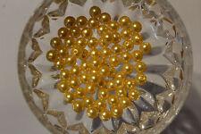 Wachsperlen Auswahl 3-6-8mm Oliven Farbwahl Perlen Perlensterne Drahtsterne Deko
