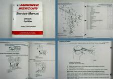 Mariner Mercury 200 250 OptiMax Direct Fuel Injection DFI Service Manual