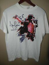 Michael Jackson This Is It Tour Graphic Shirt Size M 100% Cotton Alstyle Aparel