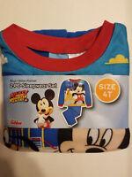 Disney Mickey Mouse Toddler Boys 2pc Pajamas Set  Sizes-2T,3T,4T NWT