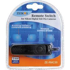 MC-30 MC-36 Remote Cord for Nikon SLR D1 D1H D1X D2 D2X D2XS D2H D2HS D3 D3S D3X