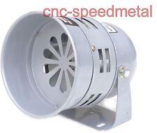 24V Sirene elektrische Motorsirene Signalhorn 113dB Elektrosirene 24Volt grau