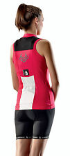 ETXEONDO Hiruki Sleeveless Women's CYCLING ROAD Jersey in Rose (made in Spain)