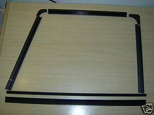 GENUINE LAND ROVER DEFENDER FRONT DOOR WINDOW CHANNELS and FILLERS