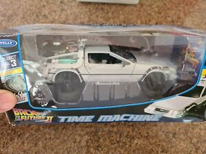WELLY Toys 1:24 Time Machine Die-cast Car