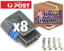Coil Plug Connector Set of 8 for LS2 L98 LS3 LS7 Coil Pack GM Holden Chev V8 VE