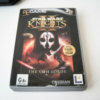 STAR WARS: KNIGHTS OF THE OLD REPUBLIC II - THE SITH LORDS - PC
