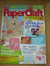 PAPERCRAFT INSPIRATIONS CRAFT MAGAZINE OCT 2009 142 IDEAS CARDS CHRISTMAS BABY
