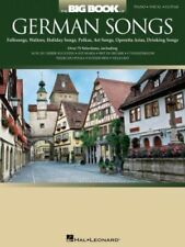"""""""THE BIG BOOK OF GERMAN SONGS"""" PIANO/VOCAL/GUITAR MUSIC BOOK BRAND NEW ON SALE!!"""