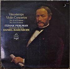 VIEUXTEMPS: Violin Concertos No.4/No.5-M1978LP PERLMAN/BARENBOIM